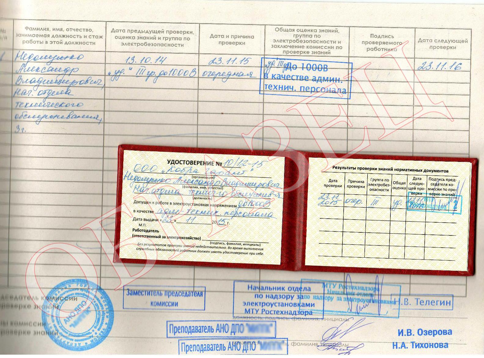Электробезопасность и охрана труда в организации с выдачей образец приказа ответственный за электробезопасность на предприятии
